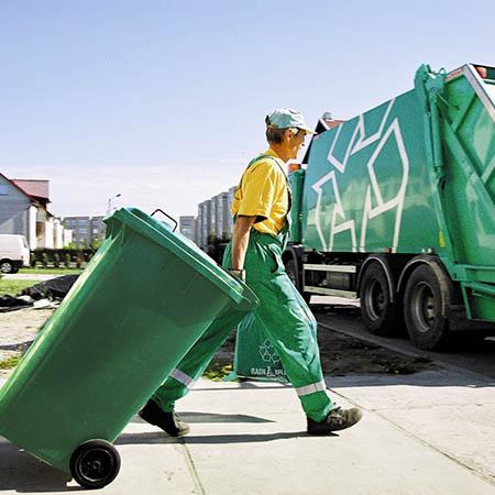 Уборка отходов